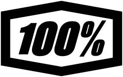 Surfshop - OKULARY 100% #SPEEDTRAP# SZARY - 100procent logo
